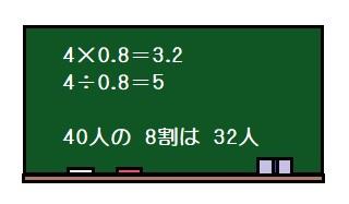 小学5年生の算数割合少数の かけ算 わり算等になぜ進研ゼミ